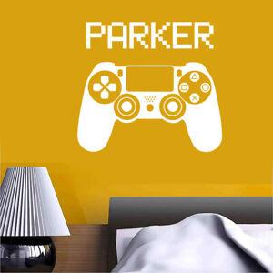Video Game PlayStation joystick Personalised Name / GamerTag Vinyl Sticker Decal