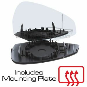 Audi A4 2015-2019 Wing Door Mirror Glass Heated O/S Drivers Right