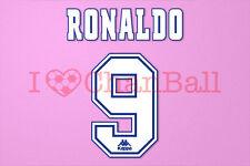 Ronaldo #9 1996-1997 Barcelona Homekit Nameset Printing