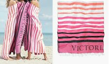 "Victoria's Secret Limited Edition 2017 Striped Beach Throw Blanket 50"" x 60"" NEW"