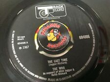 "The Who The Last Time Under My Thumb Netherlands Single 7"" Piranha Records"
