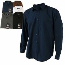 Men's Polycotton Long Sleeve Casual Shirts & Tops
