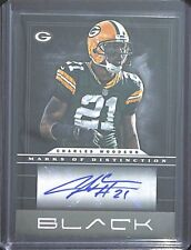 2012 Panini Black Autograph #17 Charles Woodson No 13 of 21