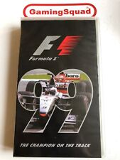 Formula One F1 99 Official Review VHS Video Retro, Supplied by Gaming Squad