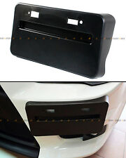 FOR 08-16 MITSUBISHI LANCER GTS EVO X FRONT BUMPER LICENSE PLATE RELOCATOR BASE