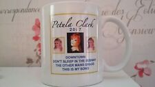 PETULA CLARK HAND SIGNED AUTOGRAPH CUP MUSIC 2009