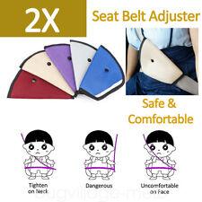 Child Seat Belt Cover Adjuster Safety Belt Clips Protector No Scratch Kids Adult
