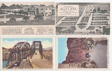 Antique Post Card Lot of 4 Arizona