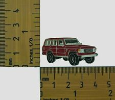 60 Series  Toyota Landcruiser Red  Wagon  Lapel Pin / Badge