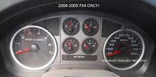 04-05 Ford F150 FX4 Instrument Gauge Cluster Speedo Tach Speedo MPH *PICK MILES!