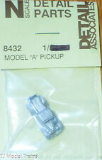 "Detail Associates #8432 (N Scale) Model ""A"" Pickup Truck (Light Cast Metal)"