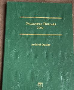 Littleton Coin Folder LCF37 Sacagawea Dollar 2000 - 2015 Book / Album No Coins