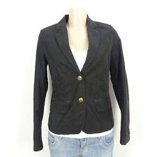 ESPRIT Blazer Cord Jacket Fein Braun Gr. 36 S