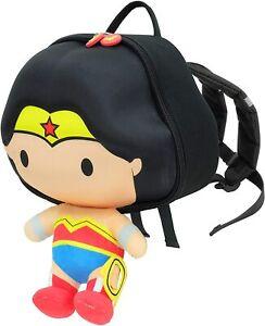 Wonder Woman Kids Backpack DC Justice League School Rucksack Swimming Bag
