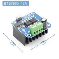 BTS7960 43A Double DC Stepper Motor Driver H-Bridge PWM Arduino Smart Car