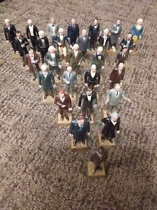 1950's Marx PRESIDENTS OF THE UNITED STATES playset figures