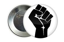 Badge Pin Button 38 mm Poing Fist