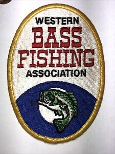 Vintage Western Bass Fishing Association Patch