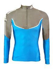 Womens adidas Cycling Running Long Sleeve Top 12 14 16 Cold Baselayer T Shirt UK 10 - EU 36