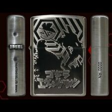 ZIPPO Godzilla vs. Evangelion Oil Lighter Silhouette VER Japan #With tracking