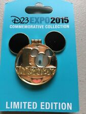 Disney Hinged Pin Mickey Mouse D23 Expo 2015 LE Limited Edition Unique 1/1500