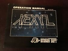 NINTENDO NES XEXYZ MANUAL BOOK BOOKLET INSTRUCTIONS NES HQ