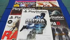 PlayStation Official Magazine ~July - Hol 2010 ~ Subscr. Issues 34-40 (7 Issues)