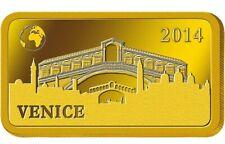 1g 2014 Venice Gold Bar
