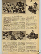 1946 PAPER AD Toy Navy Pom Pom Gun Remco Radar Rocket Cannon Helmet Pilot Test