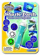Brainstorm Juguetes Shark Antorcha & Proyector Juguete Juego Niños Juego Regalo Regalo De Navidad