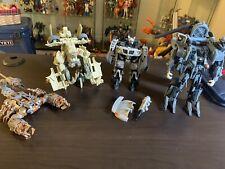 Transformers 2007 Lot - Jazz, Scorponok, Bonecrusher, Blackout