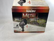 New listing Factory New Malibu Cl90004T Low Voltage 20-Watt Metal Floodlight Expandable Kit