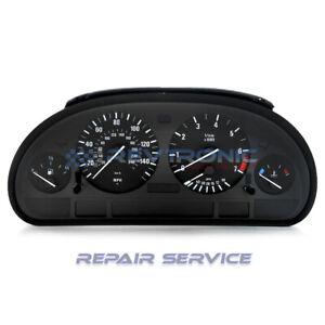 BMW 5 Series,E39 Speedometer Instrument Cluster LCD Pixel Repair Service