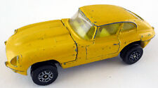 Corgi Juniors Toys Whizzwheels Jaguar E-Type 2+2 gelb Coupe Typ 2