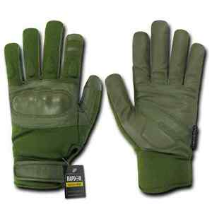 Rapid Dominance Nomex Tactical Hard Knuckle Combat Rescue Shooting Patrol Gloves