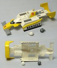 1982 TYCO Renault F-1 Indy Slot Car Test Shot PreProduction Elf 15 BODY 8908 X15