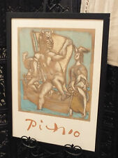 "Vintage Pablo Picasso ""Femme Et Minotaure"" Estate Collection Ltd. Edt. Print"