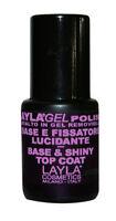 1639R25 LAYLA GEL POLISH BASE & TOP COAT PREPARA LUCIDA 10 ML X SEMIPERMANENTE