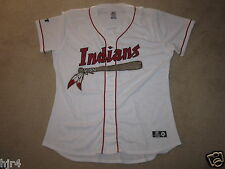 Lonnie Chisenhall #8 Kinston Indians Minor League Game Worn Used Jersey XL