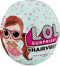NEW LOL SURPRISE! HAIRVIBES WITH 15 SURPRISES - MIX MATCH HAIR #HAIR VIBES - NEW