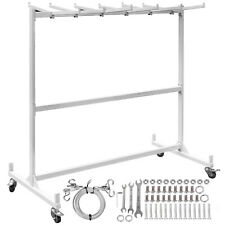 Folding Chair Rack Dolly Cart Withlocking Casters Max 42 Chairs 12 Tables Hanging