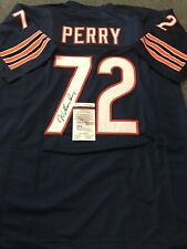WILLIAM PERRY AUTOGRAPHED SIGNED CHICAGO BEARS JERSEY JSA  COA
