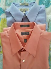 mens dress shirts lot of 2, size 17 34/35, Arrow and craft and barrow.