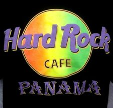 HARD ROCK CAFE tee XL Panama rock roll logo T shirt restaurant South America vtg
