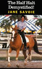 The Half Halt Demystified by Jane Savoie Vol 1 & 2 DVD DRESSAGE horse training