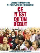 Affiche 120x160cm CE N'EST QU'UN DÉBUT 2010 Jean-Pierre Pozzi, Barougier TB