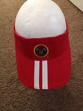 Bacardi Visor  Red Adjustable Cotton GXN