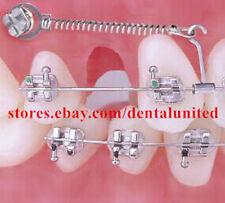 100pcs Dental Orthodontic Crimpable Long Curved Power Hooks Right&Left 5pks each