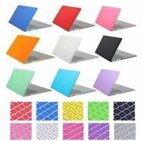 Crystal Matte Plastic Case Keyboard Cover For Macbook Air 11 13 Pro Retina 13 12