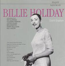 Billie Holiday Don`t Explain (Easy To Remember, Porgy) CD Magic Music